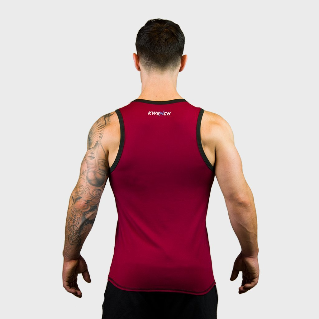 Kwench Mens Gym Vest Tank Stringer Gladiator