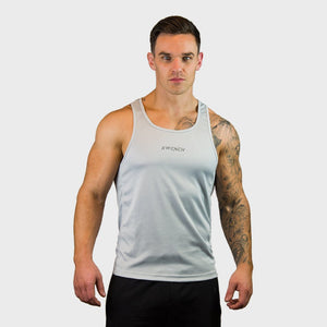 Kwench Mens Gym yoga workout Vest Tank Stringer Main-image