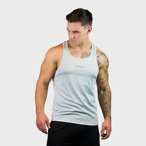 Kwench Mens Gym yoga workout Vest Tank Stringer Thumbnails-3