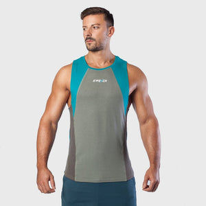 Kwench Mens Gym Vest Tank Stringer Main-image