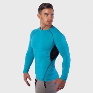 Kwench Mens Long Sleeve moisture wicking Tshirt Thumbnails-1