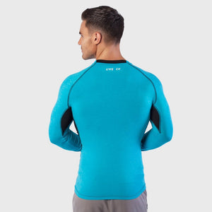Kwench Mens Long Sleeve moisture wicking Tshirt Thumbnails-3