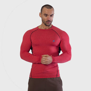 Mens long Sleeve Gym yoga fitness workout  Tshirt Main-image