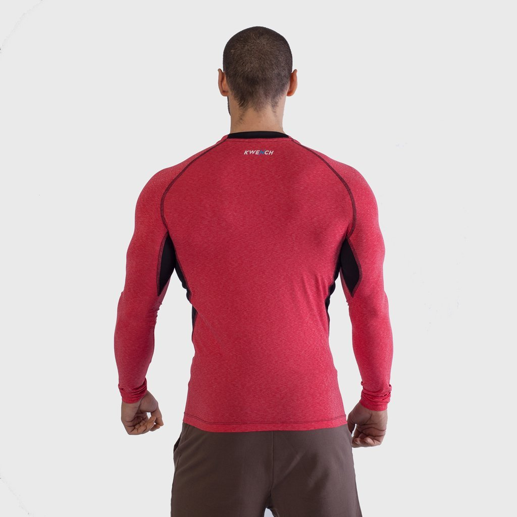 Mens long Sleeve Gym yoga fitness workout  Tshirt