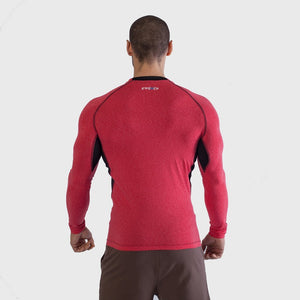 Mens long Sleeve Gym yoga fitness workout  Tshirt Thumbnails-2
