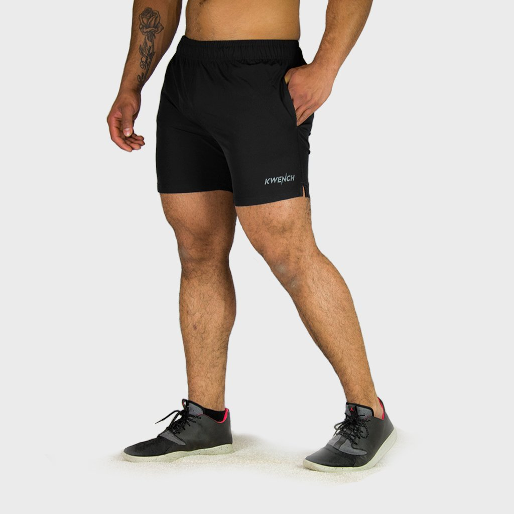 Kwench Mens Yoga Gym Workout Shorts