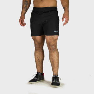 Kwench Mens Yoga Gym Workout Shorts Thumbnails-3