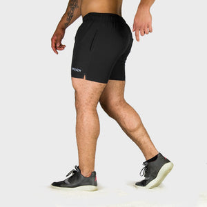 Kwench Mens Yoga Gym Workout Shorts Thumbnails-1
