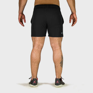 Kwench Mens Yoga Gym Workout Shorts Thumbnails-2