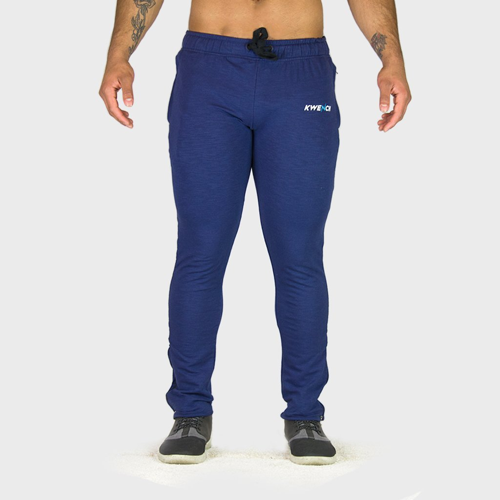 Kwench Mens Gym Track Pants Joggers Slim