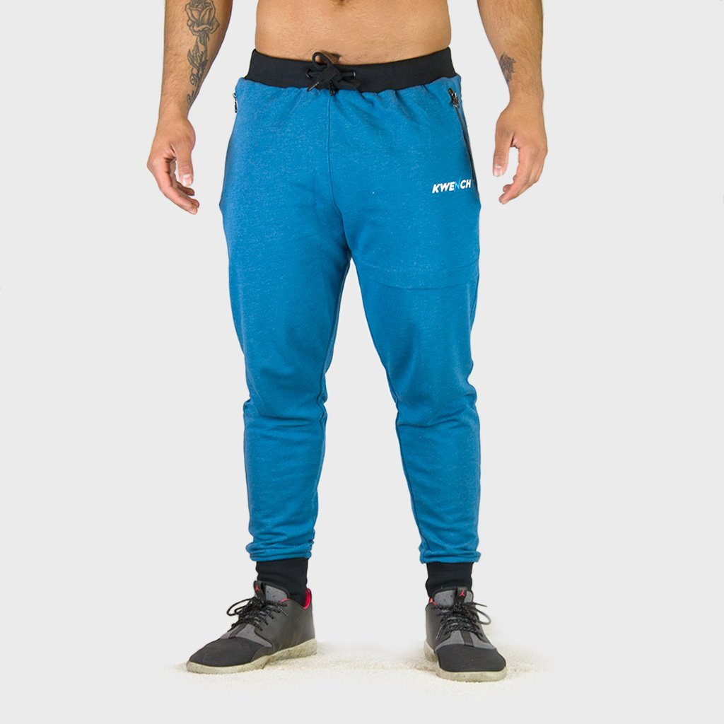 Kwench Mens Gym Track Pants Joggers tapered