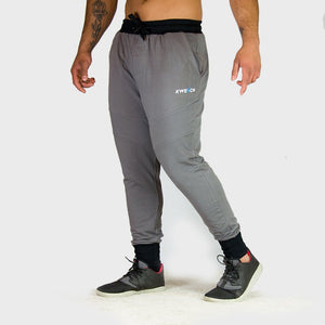 Kwench Mens Gym Track Pants Joggers tapered Thumbnails-1