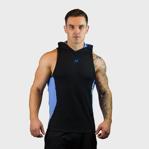 Kwench Mens Gym workout Fitness Sleeveless hoodie Main-image