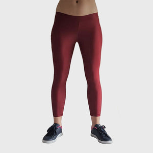 Kwench Womens Crop Gym Fitness Leggings  Main-image