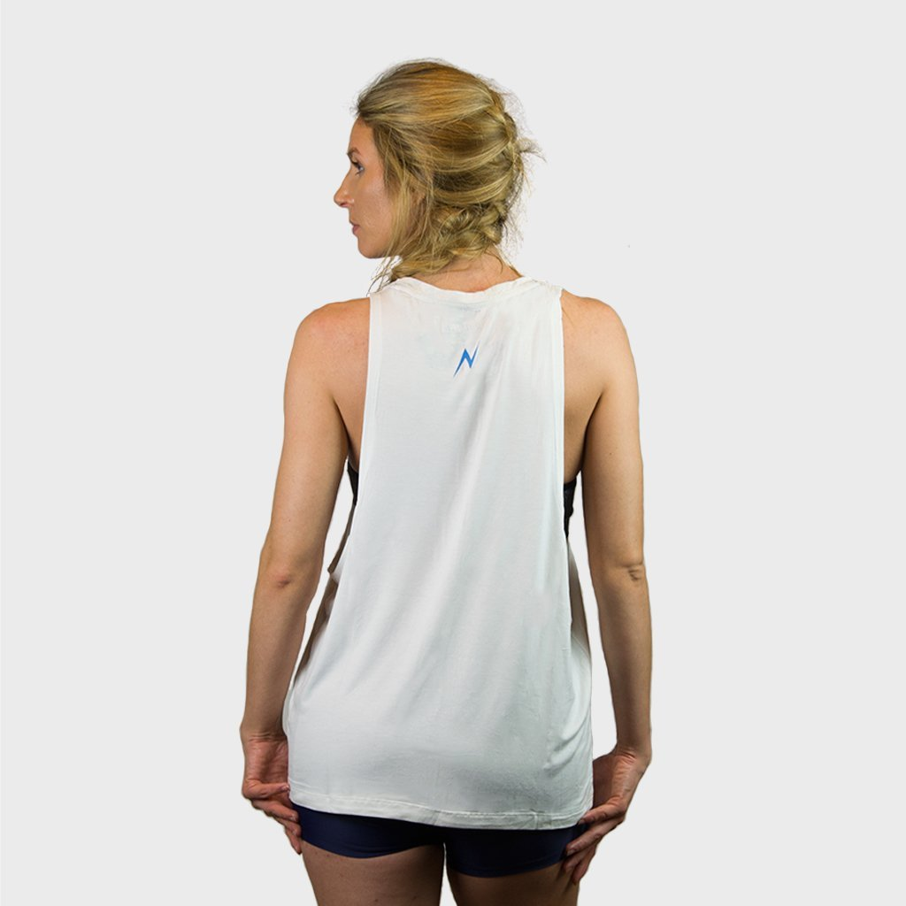 Kwench Womens Gym Workout top vest with drop arm holes