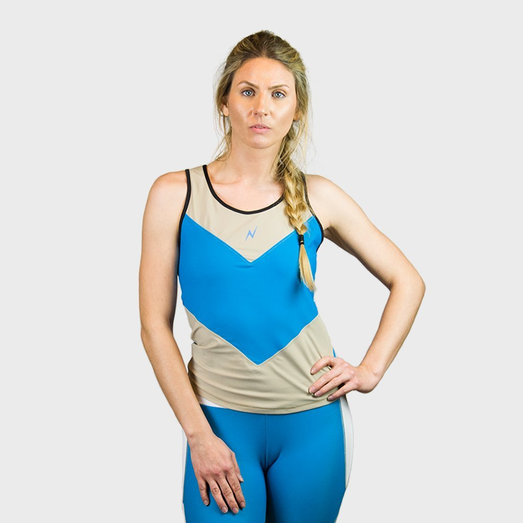 Kwench Womens Gym Workout top vest