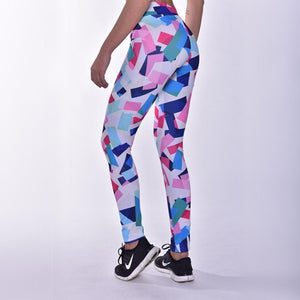 Kwench womens printed gym workout leggings  Thumbnails-2