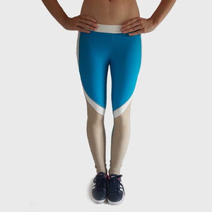 Flex Leggings | Brown - Blue Main-image