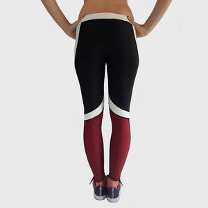 Kwench Womens Yoga Gym Fitness workout Squat proof Leggings Thumbnails-3