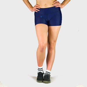 Kwench Womens Gym workout Shorts with mobile pocket Main-image