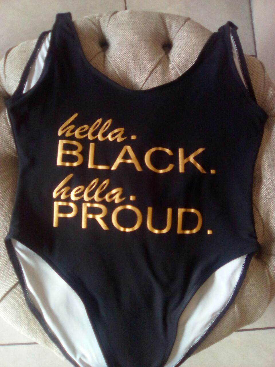 Hella BLACK, Hella PROUD swimsuit