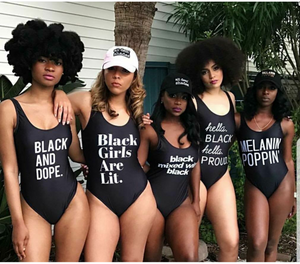 MELANIN love swimsuit
