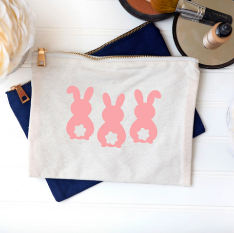 BUNNY BUTT Make Up Bag