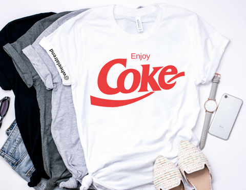 ENJOY COKE LADYFIT MEDIUM
