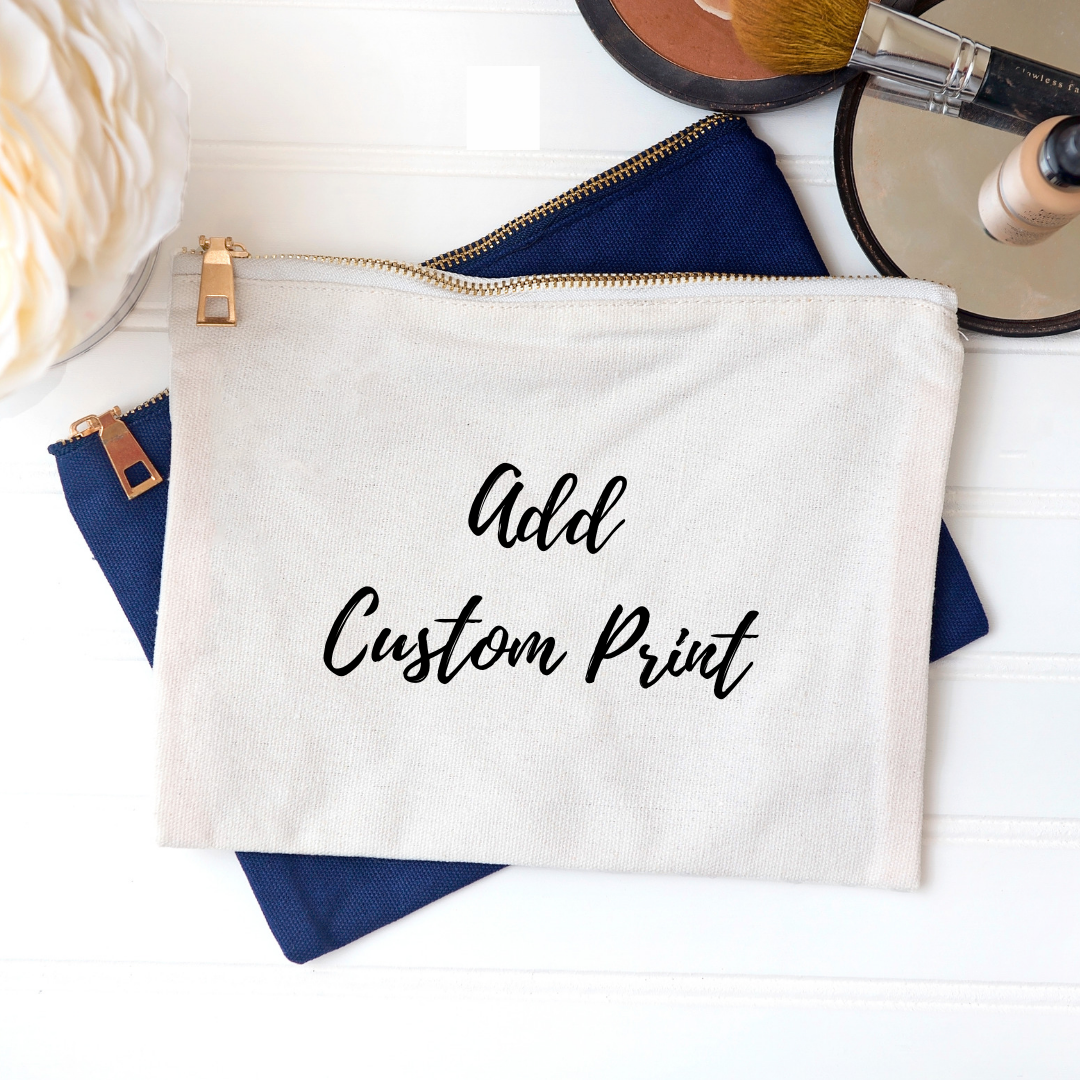 Any Personalised Make Up Bag