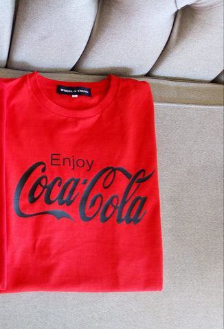 ENJOY COCA-COLA  SMALL UNISEX T SHIRT