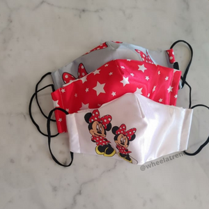 Personalised Satin Kids Mask