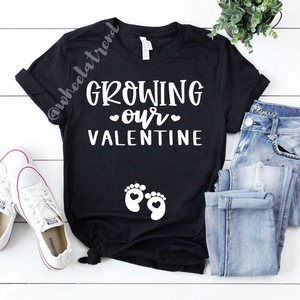 GROWING OUR VALENTINE Tshirt