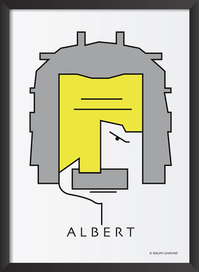Albert Einstein Art Frame
