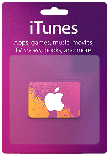 USA iTunes Cards