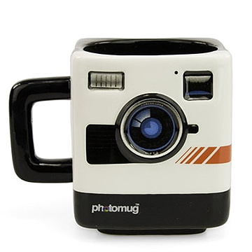 Retro Camera Shaped Mug