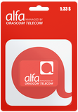 Alfa Recharge Cards