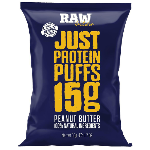 Raw Bites Peanut Butter 50g