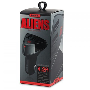 Remax Aliens 3 USB Car Charger