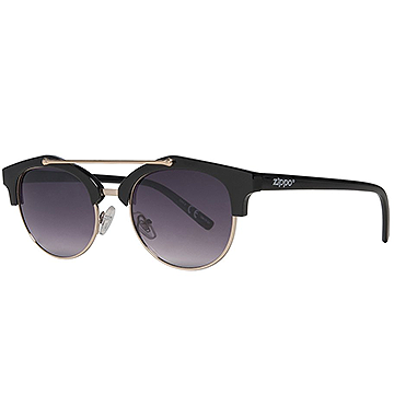 Zippo Black Sunglasses with Brow Bar