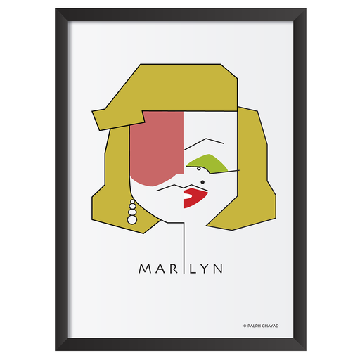 Marilyn Monroe Art Frame