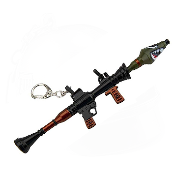 Fortnite RPG Keychain
