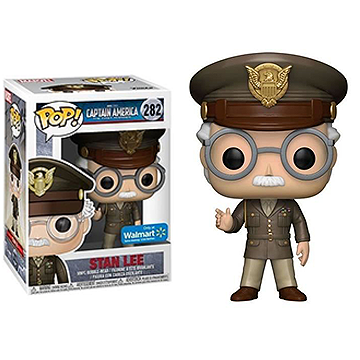 Stan Lee Cameo - POP! Marvel - Captain America