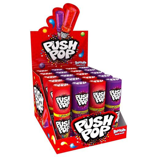 Bazooka Push Pop Candy 15g