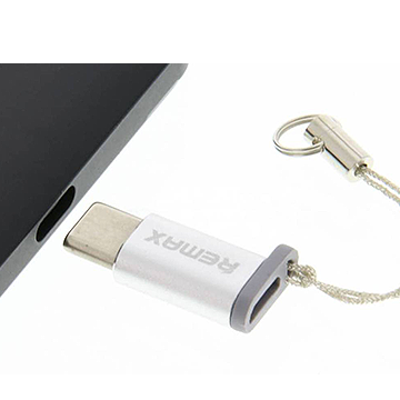 Remax Micro USB to Type C Adapter