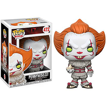Pennywise with Boat - POP! Movies - IT