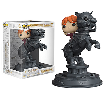 Ron Weasley Riding Chess Piece - Harry Potter Movie Moments
