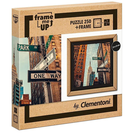 Clementoni One way 250 pcs Frame Me Up Puzzle