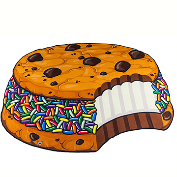 Cookie Sandwich Beach Blanket