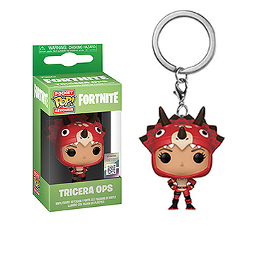 Tricera Ops - Pocket POP! Keychain - Fortnite