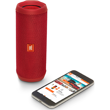 JBL FLIP 4 Red Wireless Speaker